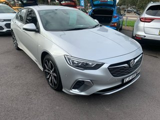 2018 Holden Commodore ZB MY18 RS Liftback AWD Silver 9 Speed Sports Automatic Liftback.