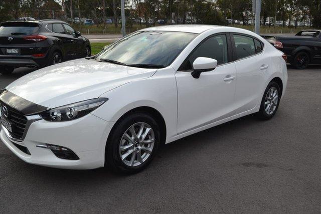 Used Mazda 3 BN5278 Maxx SKYACTIV-Drive, 2017 Mazda 3 BN5278 Maxx SKYACTIV-Drive White 6 Speed Sports Automatic Sedan
