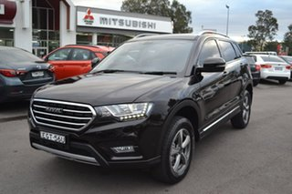2019 Haval H6 Premium DCT Black 6 Speed Sports Automatic Dual Clutch Wagon.