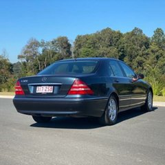 1999 Mercedes-Benz S320 W220 Blue 5 Speed Automatic Sedan