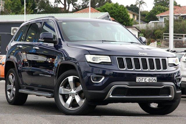Used Jeep Grand Cherokee WK MY15 Limited, 2015 Jeep Grand Cherokee WK MY15 Limited Blue 8 Speed Sports Automatic Wagon
