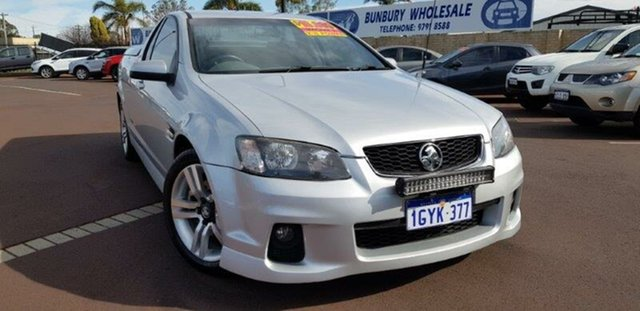 Used Holden Ute VE II SS, 2010 Holden Ute VE II SS Silver 6 Speed Sports Automatic Utility