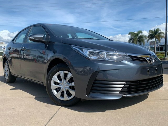 Used Toyota Corolla ZRE172R Ascent S-CVT, 2018 Toyota Corolla ZRE172R Ascent S-CVT Grey 7 Speed Constant Variable Sedan