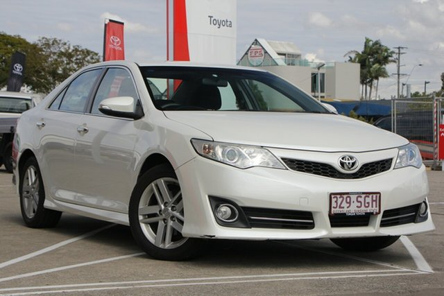Used Toyota Camry ASV50R Atara S, 2011 Toyota Camry ASV50R Atara S Pearl White 6 Speed Sports Automatic Sedan