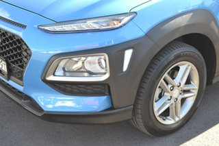 2018 Hyundai Kona OS.2 MY19 Active 2WD Blue 6 Speed Sports Automatic Wagon.