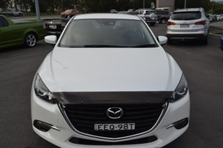 2017 Mazda 3 BN5278 Maxx SKYACTIV-Drive White 6 Speed Sports Automatic Sedan.