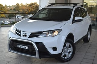 2015 Toyota RAV4 ALA49R GX AWD White 6 Speed Sports Automatic Wagon.
