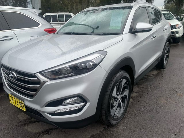 Used Hyundai Tucson TLe MY17 Elite AWD, 2016 Hyundai Tucson TLe MY17 Elite AWD Silver 6 Speed Sports Automatic Wagon