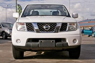 2014 Nissan Navara D40 S8 RX White 5 Speed Automatic Cab Chassis