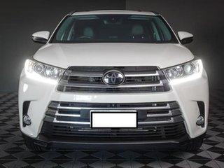 2018 Toyota Kluger GSU55R Grande AWD White 8 Speed Sports Automatic Wagon.