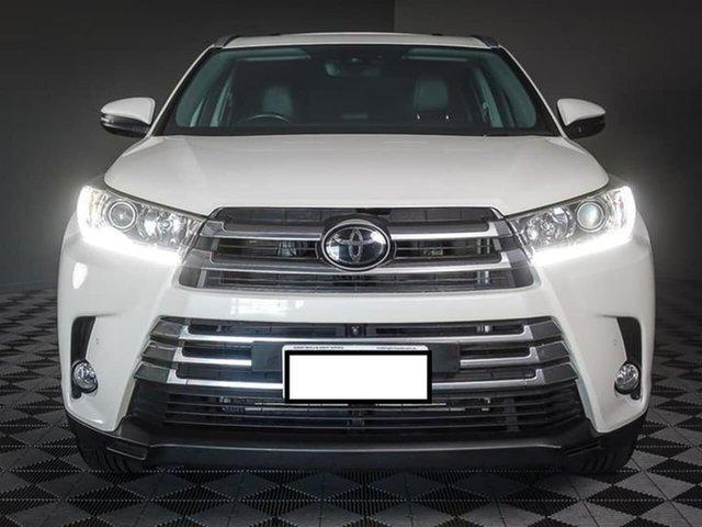 Used Toyota Kluger GSU55R Grande AWD, 2018 Toyota Kluger GSU55R Grande AWD White 8 Speed Sports Automatic Wagon