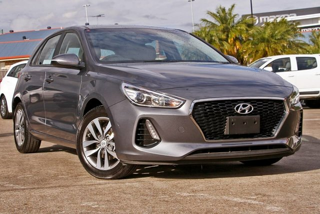 Used Hyundai i30 PD MY18 Active, 2018 Hyundai i30 PD MY18 Active Grey 6 Speed Sports Automatic Hatchback