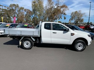 2016 Ford Ranger PX MkII XL Super Cab 4x2 Hi-Rider White 6 Speed Sports Automatic Cab Chassis