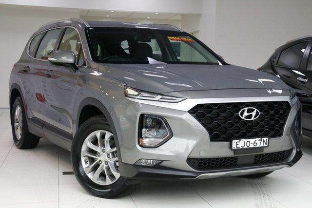 Used Hyundai Santa Fe TM Active CRDi (AWD), 2018 Hyundai Santa Fe TM Active CRDi (AWD) Grey 8 Speed Automatic Wagon