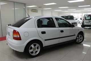 2003 Holden Astra TS City White 5 Speed Manual Hatchback