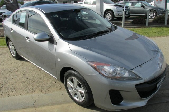 Used Mazda 3 BL10F2 MY13 Neo, 2013 Mazda 3 BL10F2 MY13 Neo Silver 6 Speed Manual Sedan
