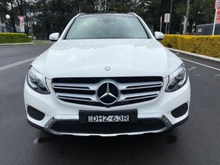 2016 Mercedes-Benz GLC220 X253 807MY d 9G-Tronic 4MATIC White 9 Speed Sports Automatic Wagon.