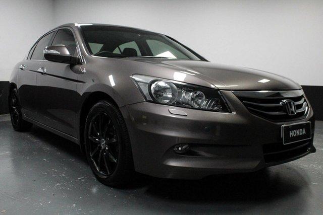Used Honda Accord 8th Gen MY12 V6 Luxury, 2012 Honda Accord 8th Gen MY12 V6 Luxury Grey 5 Speed Sports Automatic Sedan