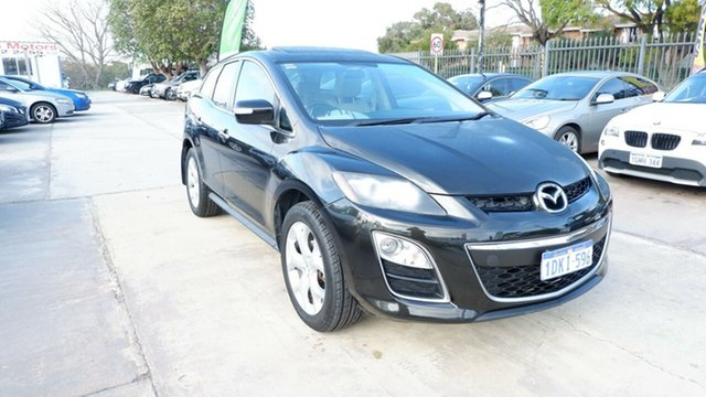 Used Mazda CX-7 ER1032 Luxury Activematic Sports, 2010 Mazda CX-7 ER1032 Luxury Activematic Sports Black 6 Speed Sports Automatic Wagon