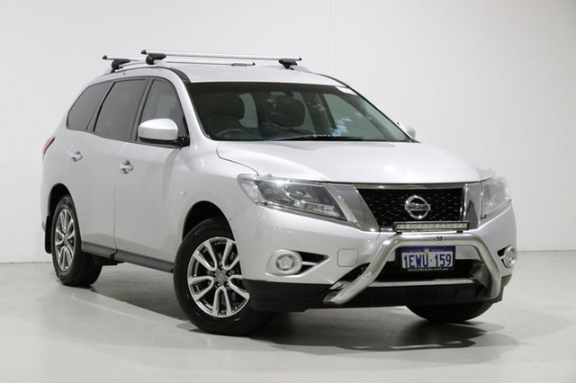 Used Nissan Pathfinder R52 MY15 ST (4x2), 2015 Nissan Pathfinder R52 MY15 ST (4x2) Silver Continuous Variable Wagon