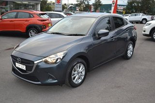 2016 Mazda 2 DL2SAA Maxx SKYACTIV-Drive Grey 6 Speed Sports Automatic Sedan.