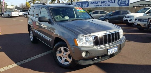 Used Jeep Grand Cherokee WH MY2007 Limited, 2007 Jeep Grand Cherokee WH MY2007 Limited Grey 5 Speed Automatic Wagon