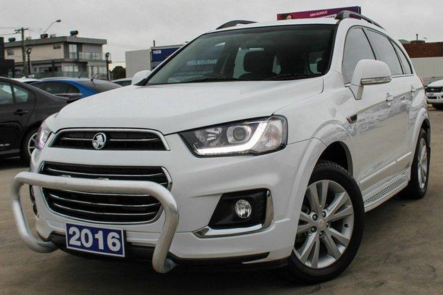 Used Holden Captiva CG MY16 LS 2WD, 2016 Holden Captiva CG MY16 LS 2WD White 6 Speed Sports Automatic Wagon