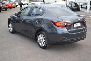 2016 Mazda 2 DL2SAA Maxx SKYACTIV-Drive Grey 6 Speed Sports Automatic Sedan