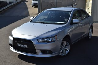 2014 Mitsubishi Lancer CJ MY14.5 LX Silver 6 Speed Constant Variable Sedan.