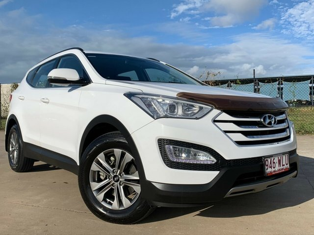 Used Hyundai Santa Fe DM2 MY15 Active, 2015 Hyundai Santa Fe DM2 MY15 Active White 6 Speed Sports Automatic Wagon