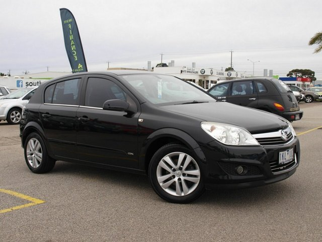 Used Holden Astra AH MY07.5 CDX, 2007 Holden Astra AH MY07.5 CDX Black 5 Speed Manual Hatchback