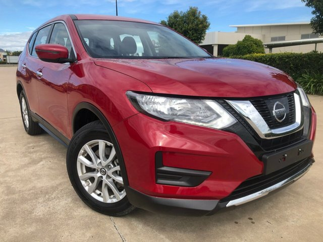 Used Nissan X-Trail T32 Series II ST X-tronic 2WD, 2018 Nissan X-Trail T32 Series II ST X-tronic 2WD Red 7 Speed Constant Variable Wagon