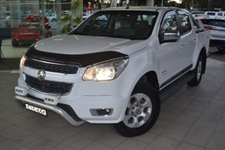 2013 Holden Colorado RG MY14 LTZ Crew Cab White 6 Speed Sports Automatic Utility.
