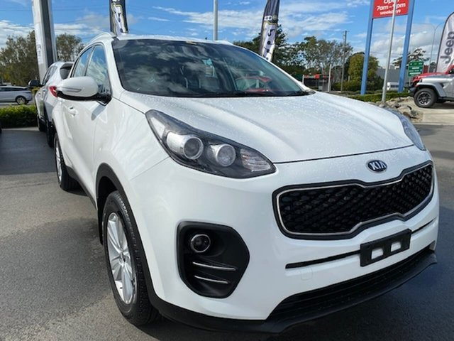 Used Kia Sportage QL MY18 Si 2WD, 2018 Kia Sportage QL MY18 Si 2WD White 6 Speed Sports Automatic Wagon