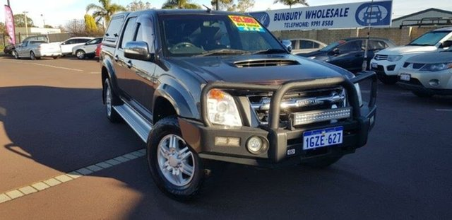 Used Isuzu D-MAX MY10 LS-U, 2010 Isuzu D-MAX MY10 LS-U Grey 4 Speed Automatic Utility