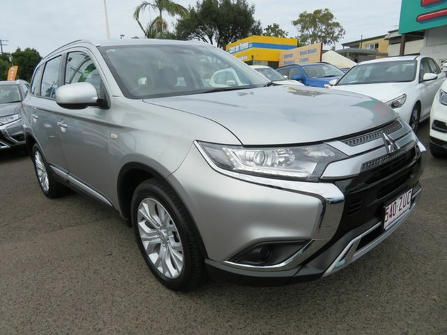 Used Mitsubishi Outlander ZL MY20 ES AWD, 2019 Mitsubishi Outlander ZL MY20 ES AWD Silver 6 Speed Constant Variable Wagon
