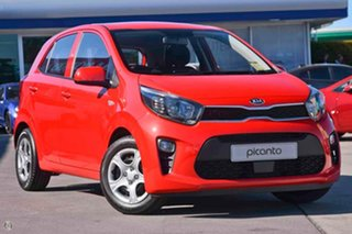 2020 Kia Picanto JA MY20 S Red 4 Speed Automatic Hatchback.