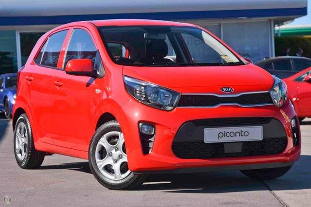 Demo Kia Picanto JA MY20 S Reynella, 2020 Kia Picanto JA MY20 S Red 4 Speed Automatic Hatchback
