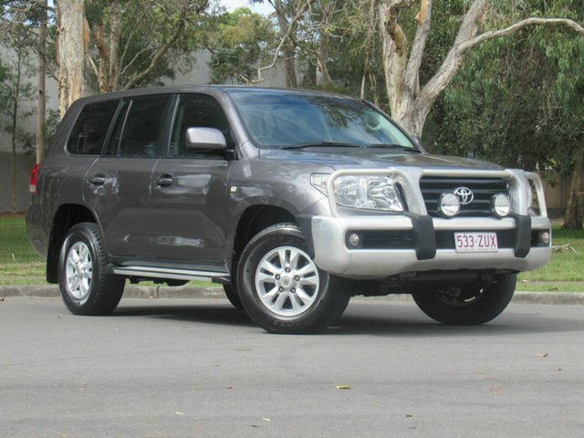 Used Toyota Landcruiser UZJ200R MY10 GXL, 2009 Toyota Landcruiser UZJ200R MY10 GXL Grey 5 Speed Sports Automatic Wagon
