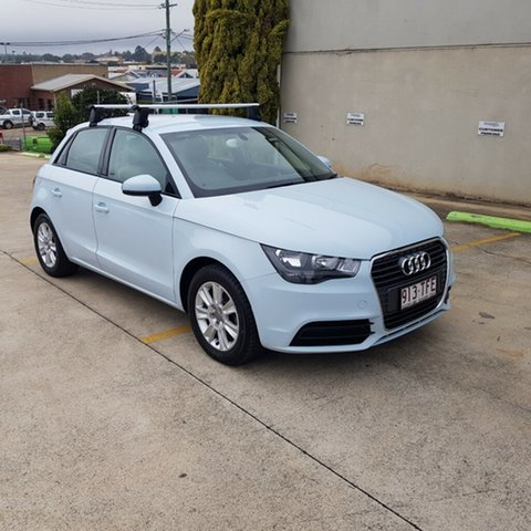 Used Audi A1 8X MY13 Attraction, 2013 Audi A1 8X MY13 Attraction Blue 5 Speed Manual Hatchback