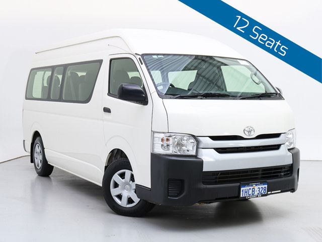 Used Toyota HiAce KDH223R MY16 Commuter, 2017 Toyota HiAce KDH223R MY16 Commuter White Bus