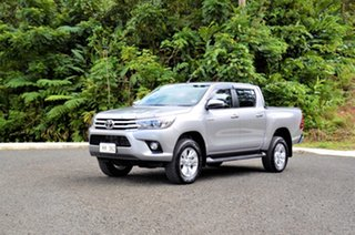 2020 Toyota Hilux Mid Spec Silver Metallic 6 Speed Manual Utility.