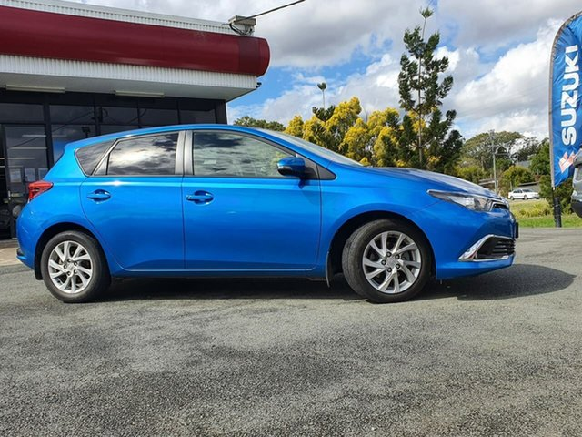 Used Toyota Corolla ZRE182R Ascent S-CVT, 2017 Toyota Corolla ZRE182R Ascent S-CVT Blue 7 Speed Constant Variable Hatchback