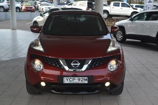 2015 Nissan Juke F15 Series 2 ST X-tronic 2WD Red 1 Speed Constant Variable Hatchback.