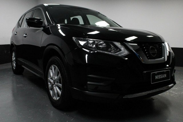 Used Nissan X-Trail T32 Series II ST X-tronic 2WD, 2018 Nissan X-Trail T32 Series II ST X-tronic 2WD Black 7 Speed Constant Variable Wagon