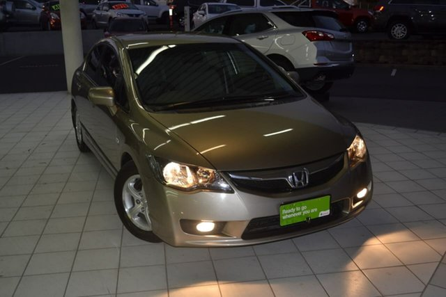 Used Honda Civic 8th Gen MY09 VTi, 2009 Honda Civic 8th Gen MY09 VTi Beige 5 Speed Automatic Sedan