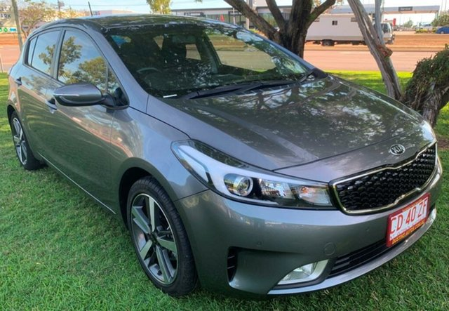Used Kia Cerato BD MY19 Sport, 2018 Kia Cerato BD MY19 Sport Grey 6 Speed Sports Automatic Hatchback