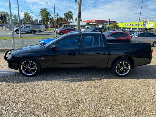 Used Holden Crewman VZ MY06 S, 2006 Holden Crewman VZ MY06 S Black 6 Speed Manual Crew Cab Utility