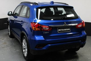 2018 Mitsubishi ASX XC MY19 ES 2WD Blue 1 Speed Constant Variable Wagon