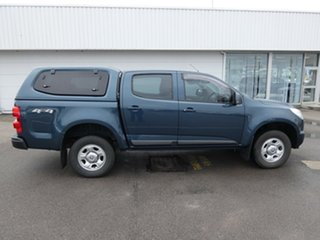 2015 Holden Colorado RG MY16 LS Crew Cab Blue 6 Speed Sports Automatic Utility